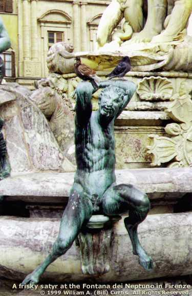 Goatboi in an Italian Fountain